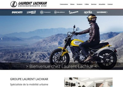 LAURENT LACHKAR MOTOS