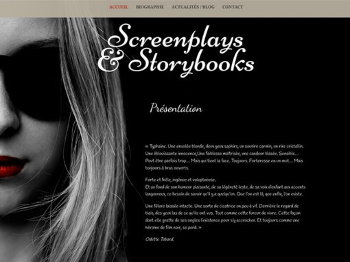 SCREENPLAYS & STORYBOOKS